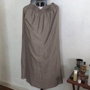 Bcbg generation long skirt